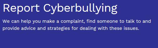 report cyberbullying
