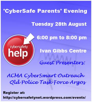 CyberSafe Parents Evening